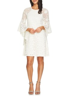 Cynthia Steffe Keira Floral Lace Mesh Combo Shift Dress