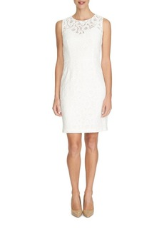 Cynthia Steffe Kennedy Floral Lace Sheath Dress