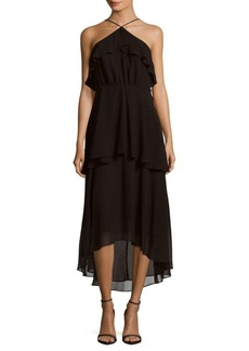Cynthia Steffe Lilly Tiered Halter Dress