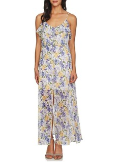 Cynthia Steffe Liza Floral Sleeveless Maxi Dress