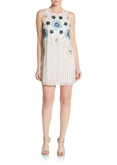 Cynthia Steffe Lola Sequin-Embroidered Dress