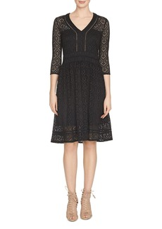 Cynthia Steffe Lynn Crochet Lace Dress