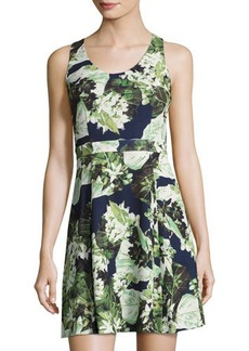 Cynthia Steffe Madison Sleeveless Floral-Print Fit & Flare Dress