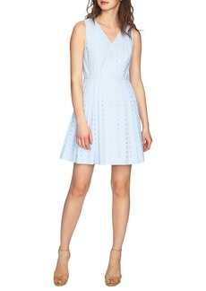 Cynthia Steffe Sleeveless Eyelet Dress