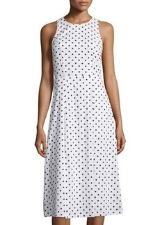 Cynthia Steffe Sleeveless Fit-and-Flare Midi Dress