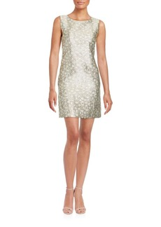 Cynthia Steffe Sleeveless Jewelneck Dress