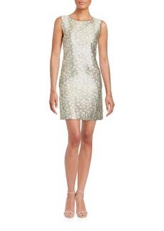 Cynthia Steffe Sleeveless Jewelneck Dress