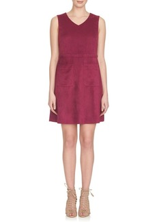 Cynthia Steffe Suede Shift Dress
