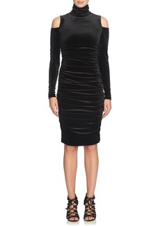 Cynthia Steffe Velvet Body-Con Dress
