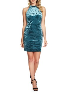Cynthia Steffe Velvet Bodycon Dress