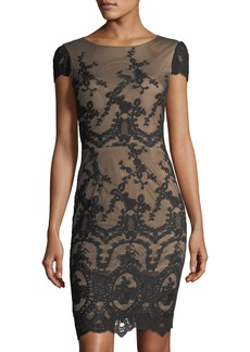 Cynthia Steffe Dina Embroidered Sleeveless Dress