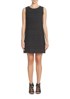 Cynthia Steffe Lattice Sleeveless Sheath Dress