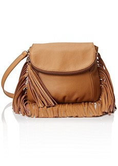 Cynthia Vincent Fringe Detail Cross Body Bag