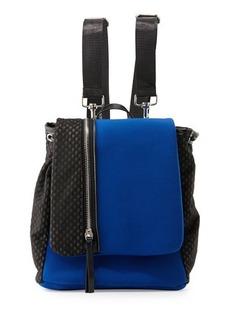 Cynthia Vincent Helga Mesh-Panel Neoprene Backpack
