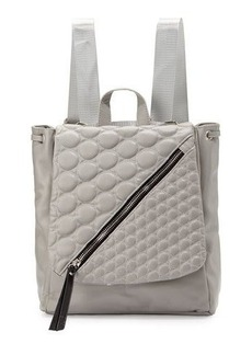 Cynthia Vincent Irene Quilted-Flap Backpack