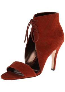 Cynthia Vincent Women's Bailey Etched Suede Dress Sandal