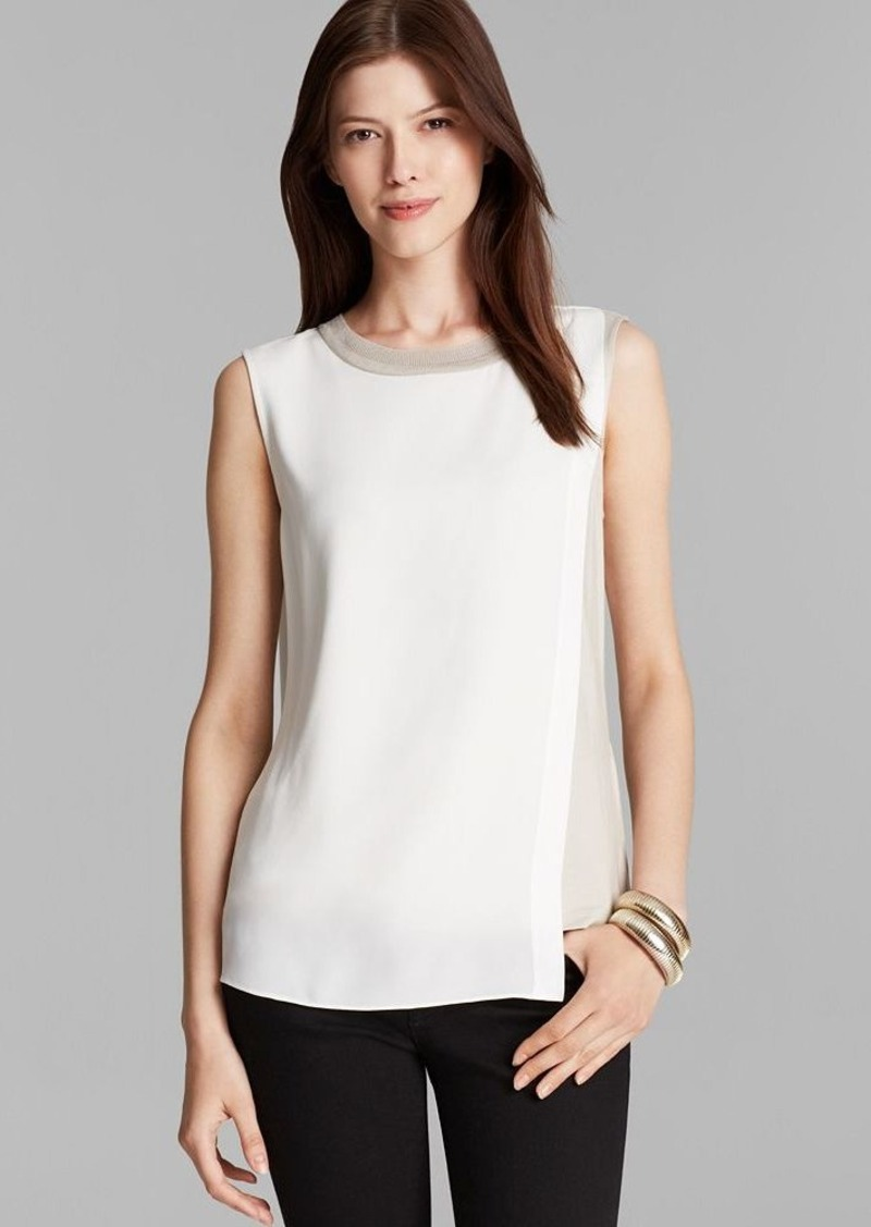 Elie Tahari Renee Silk Blouse