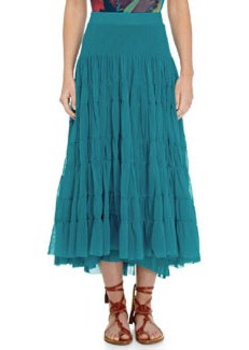 Jean Paul Gaultier Tiered Tulle Maxi Skirt   Tiered Tulle Maxi Skirt