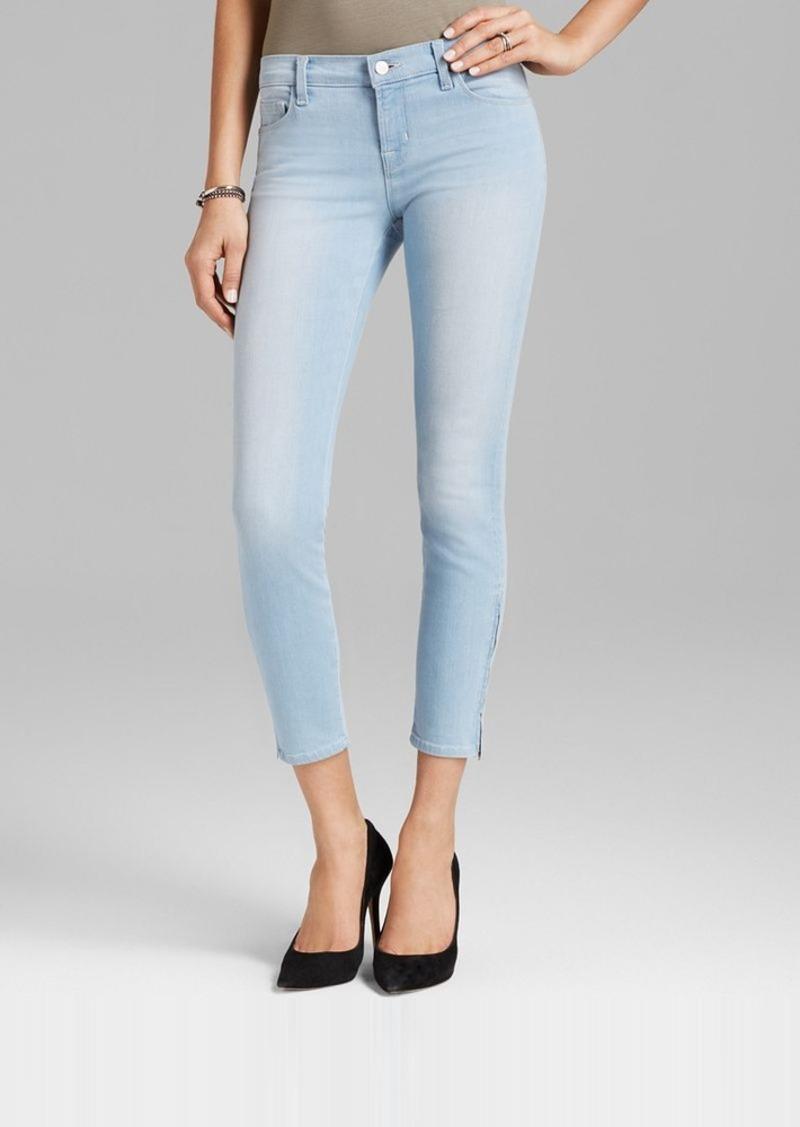 J Brand Jeans - Mid Rrise Zip Capri in Reflex