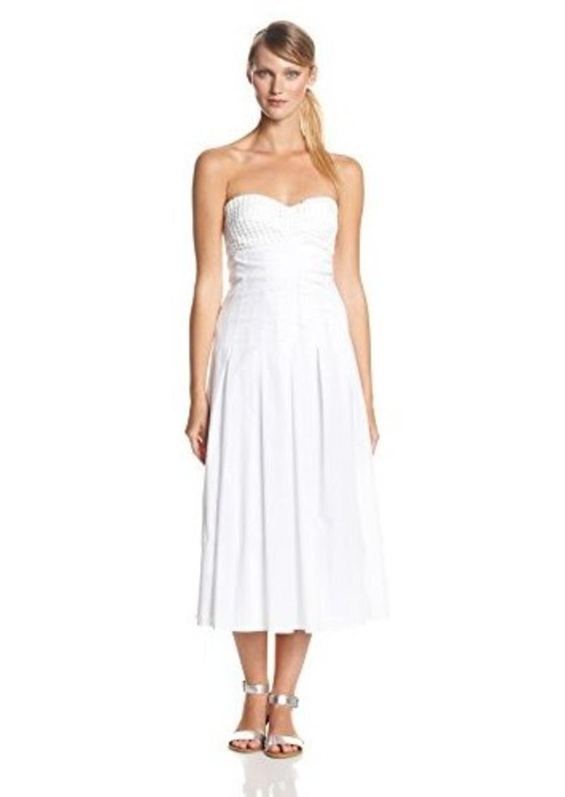 Catherine Malandrino Women's Gia Strapless Bustier Maxi Dress