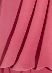 T-Bags Stretch-satin jersey maxi dress