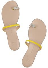 Giuseppe Zanotti Crystal-embellished patent-leather sandals