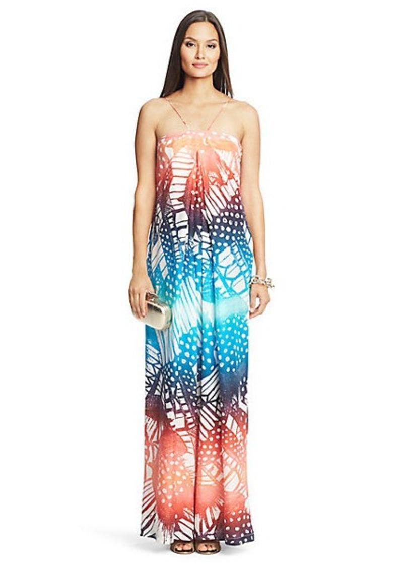 Diane Von Furstenberg Annie Printed Silk Maxi Dress