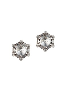 Dannijo Ace Hexagon Stud Earrings