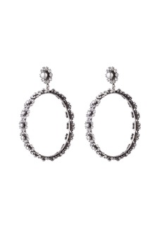 Dannijo Alix Hoop Drop Earrings