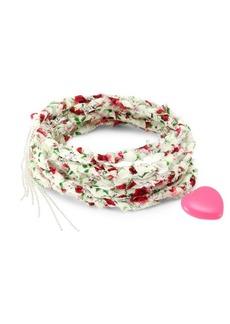 Dannijo Anabel Fabric Wrap Bracelet