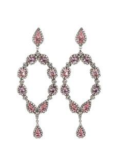 Dannijo Ansel Crystal-Embellished Drop Earrings