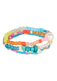 Dannijo Arielle Beaded Bracelet Set