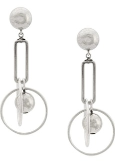 Dannijo ball hoop drop earring