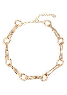 Dannijo Chandini Chain Link Necklace