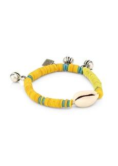 Dannijo Conch Beaded Bracelet