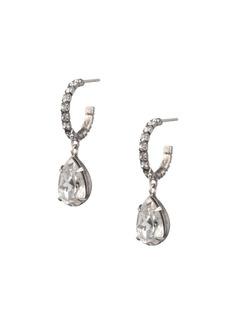 Dannijo Danni Glass Crystal Dangle Drop Earrings