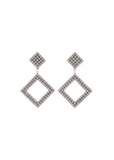 Dannijo Beta Crystal Square-Drop Earrings