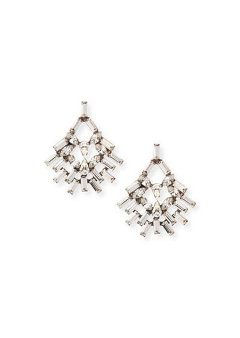 Dannijo Capelle Crystal Earrings
