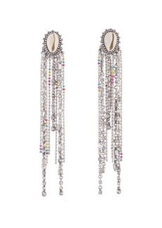 Dannijo Carosi Crystal Dangle Earrings