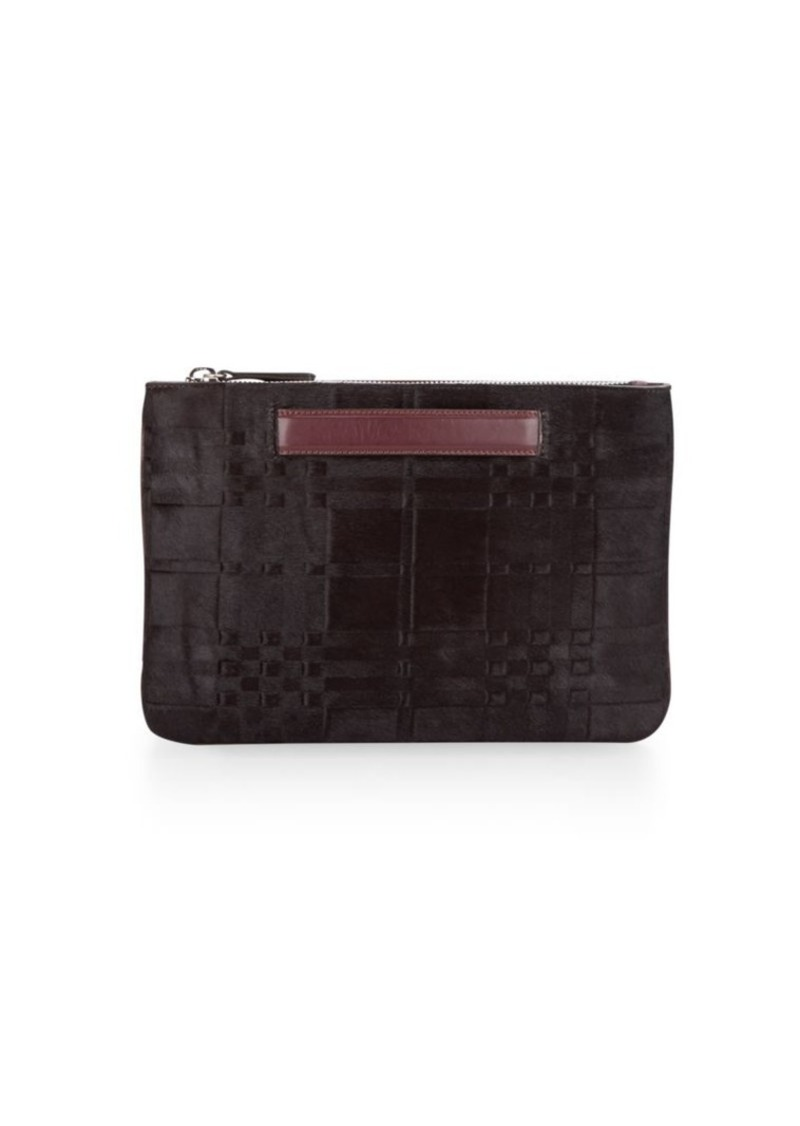 DANNIJO Leather Zip Around Pouch