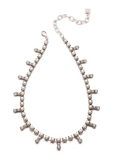 Dannijo Lovett Crystal & Pearly Necklace