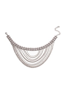 Dannijo Odion Layered Chain Statement Necklace
