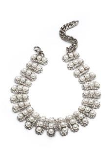 Dannijo Roxie Pearly Choker Necklace
