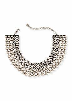 Dannijo Vernon Multi-Row Choker Necklace