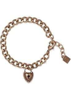 Dannijo Woman Agatha Oxidized Gold-plated Bracelet Brass