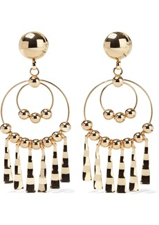 Dannijo Woman Delancy Gold-plated Clip Hoop Earrings Gold