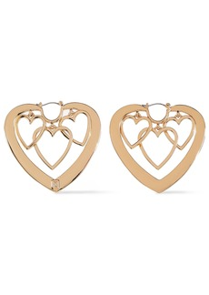 Dannijo Woman Gold-plated Earrings Gold