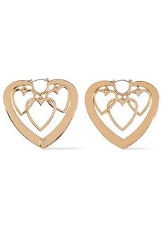 Dannijo Woman Gold-plated Earrings Gold