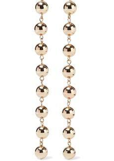 Dannijo Woman Tampa Gold-tone Earrings Gold