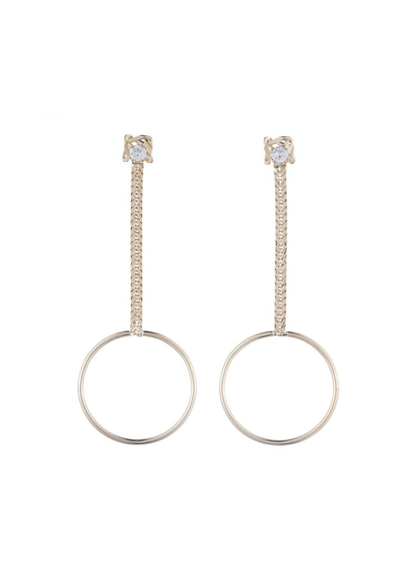 Dannijo Yandal Crystal Statement Earrings